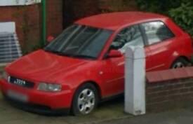 Audi a3 1.8 2003 3 door red