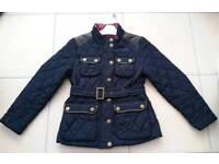 * NEXT * girls quilted jacket 7-8 y