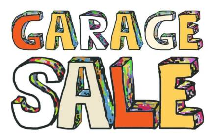Massive Garage Sale. 20 years in the making!