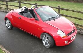 Ford StreetKa 1.6 Luxury Convertible Lovely car Low mileage and Long MoT