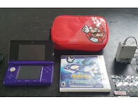 Nintendo 3DS and case etc..