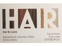 Freelance hairstylist in Belfast