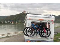 Four berth motorhome camper van for hire rental