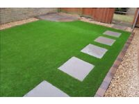 Artificial grass driveways gardening landscaping service patio paving Decking Indian stone