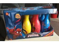 Spider-Man bowling set