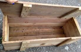 Vintage/Antique Army surplus/Ammo wooden box/Coffee table