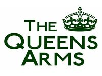 Full time / Part time cook at The Queens Arms pub in The Jewellery Quarter