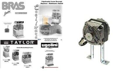 Ugolini Taylor Bras Cecilware Condenser Fan Motor 115v 60hz