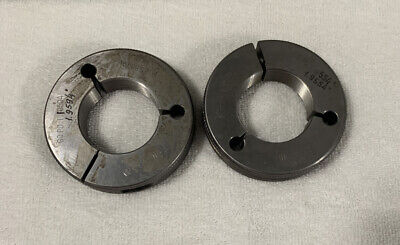 2 16 Unj 3a Thread Ring Gages 2.00 Go No Go P.d.s 1.9594 1.9554