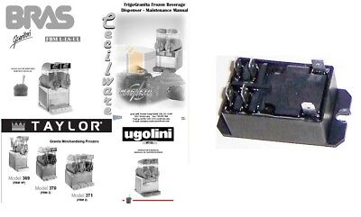 Compressor Relay For Ugolini Bras Taylor Cecilware Bunn Slush Machines