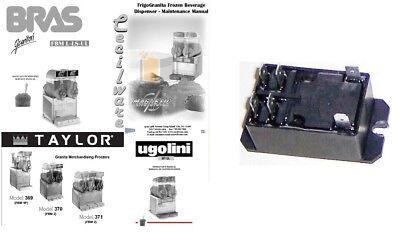 Compressor Relay For Ugolini Bras Taylor Cecilware Bunn Slush Machines