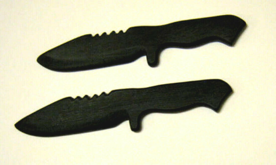 polypropylene bowie training knife sf knives martial