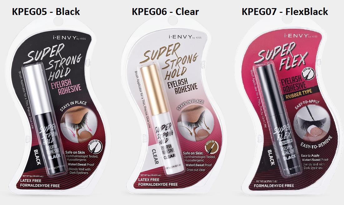 i Envy By Kiss Super Strong Mega Hold Eyelash Glue Adhesive