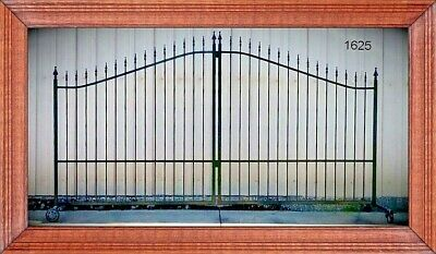 Inc Post Package Steel Iron Home Driveway Gate 1625 12 Foot Wide Ds Security