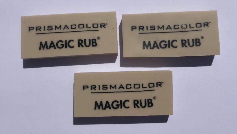 Prismacolor Magic Rub Eraser - 3 Count 73201