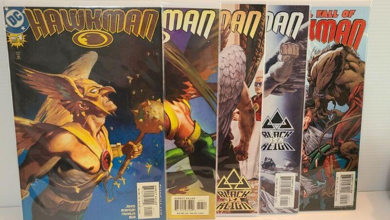 DC Hawkman #1, 13, 23, 25 & 40