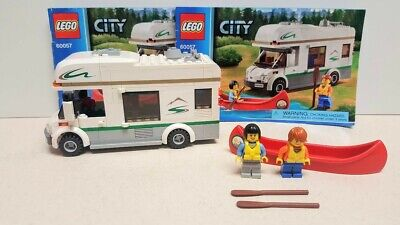 LEGO City ~ Camper Van (60057) ~ Complete w/Minifigures & Manuals!!