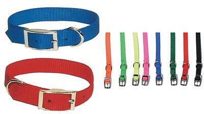 Double Ply Nylon Collar (Double Ply Nylon Dog Collars - 1