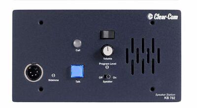 Clear-Com KB-702 2 Channel Remote Speaker (2 Channel Speaker Station)