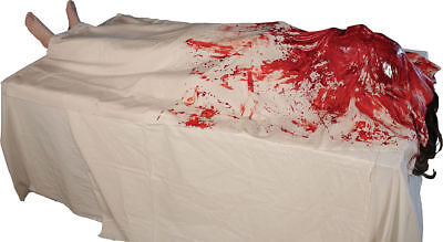 Morris Costumes Life Size Body Morgue Wake Up Dead Animated Latex Prop. DU2802 - Life Size Costumes