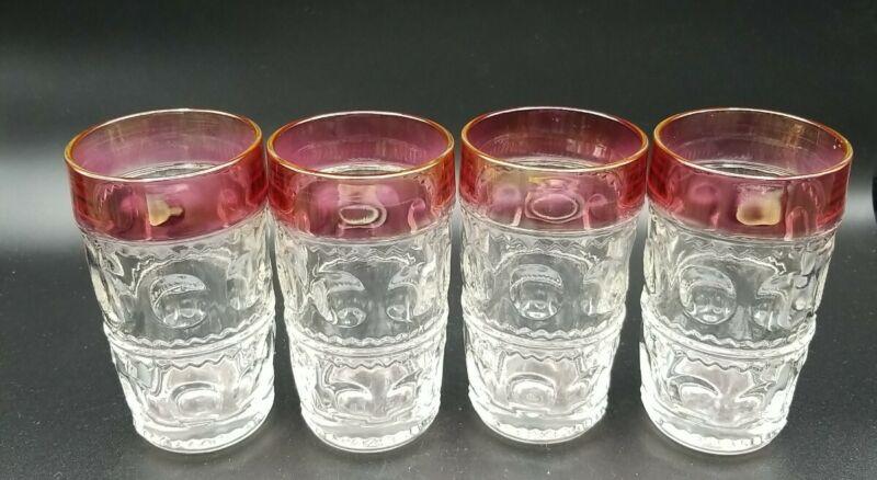 4 Tiffin Glass King