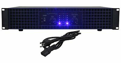 1200W DJ PROFESSIONAL HOME AUDIO DIGITAL STEREO 2 CHANNEL POWER AMP AMPLIFIER  Professional Digital Amplifier
