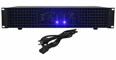 New Technical Pro AX1200 1200 Watt 2-Channel Amplifier 2U Rack DJ Power Amp