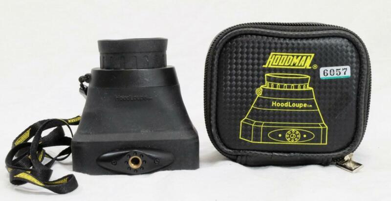 Hoodman Hoodloupe for DSLR & Mirrorless Cameras w/ Case - MUST READ! (6057)