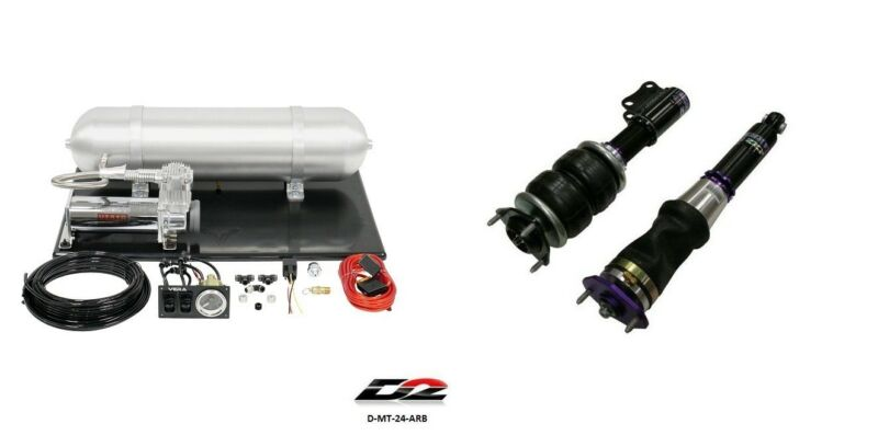 D2 Air Struts + Vera Basic Air Suspension For 2008+ Mitsubishi Evo Evolution X
