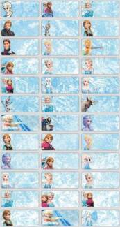 URGENT!!! Cartoon Name Stickers **96pcs for $5!!! Sydney City Inner Sydney Preview