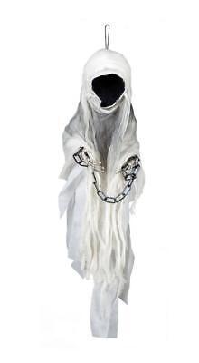 Halloween Figur GESICHTSLOSER GEIST -Howling Ghost TOD Deko Dekoration Gespenst (Halloween Ghost Gesichter)