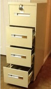 File Cabinet, 4 Drawer Legal, Vertical File