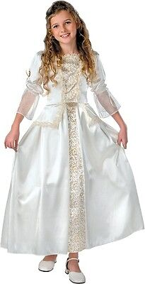 Pirates of the Caribbean Elizabeth White Dress Up Halloween Deluxe Child Costume](Pirates Of The Caribbean Elizabeth Halloween Costume)
