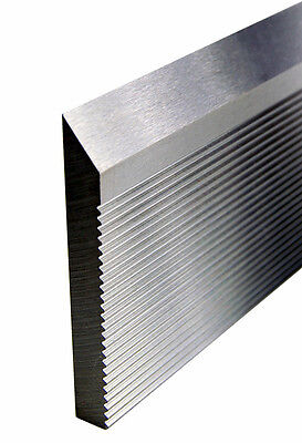 Corrugated Back High Speed Molder Knife Steel 25 X 1-12 X 14 Bars