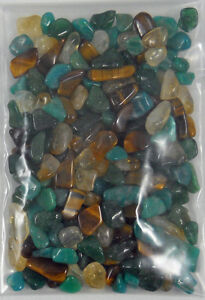 MONEY POWER POUCH Crystal Healing Properties Stone Set Reiki Wicca Gemstone