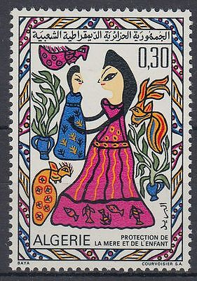 Algerien Algerie 1969 ** Mi.539 Familie Family Mutter Mother Kind Child [st0292]