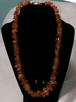 80 PIECE AMBER NECKLACE - lovely valentine's day gift