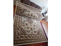 Very good Condition Flair Rugs Sincerity Sherborne Rug Beige W240 X L330