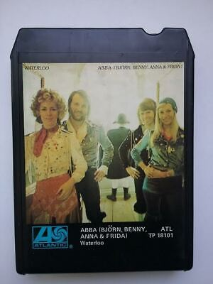 ABBA  WATERLOO   8 TRACK TAPE CARTRIDGE 1974 FREE SHIPPING