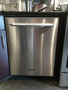 KitchenAid 24″ Dishwasher, Stainless Steel