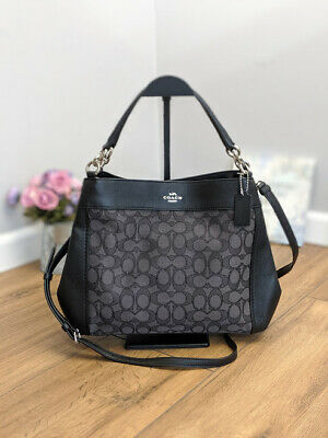 NWT COACH F29548 SMALL LEXY SHOULDER BAG IN SIGNATURE JACQUARD