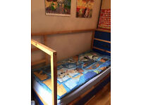IKEA Bunkbed with quality mattress
