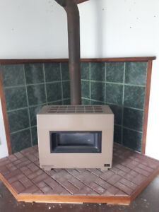 Empire vented space heater - Propane Fireplace
