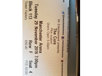 The Cure Manchester 29.11.16 TWO TICKETS ASAP
