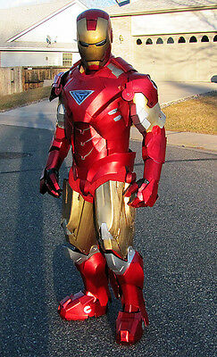 Build your own Iron Man costume Mk1 - Mk43 Hulkbuster all included - Cosplay