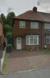 REGIONAL HOMES ARE PLEASED TO OFFER: SEMI DETACHED 3 BEDROOM HOME, WOODNORTON ROAD, ROWLEY REGIS!!!