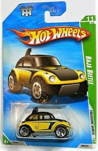 Hot Wheels 1/64 Baja Beetle Treasure Hunt Diecast Car