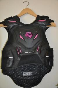 Icon Stryker Back Armour vest w/helmet
