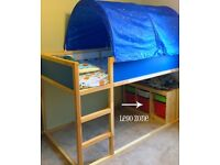 Ikea Blue Bed Tent With Stars