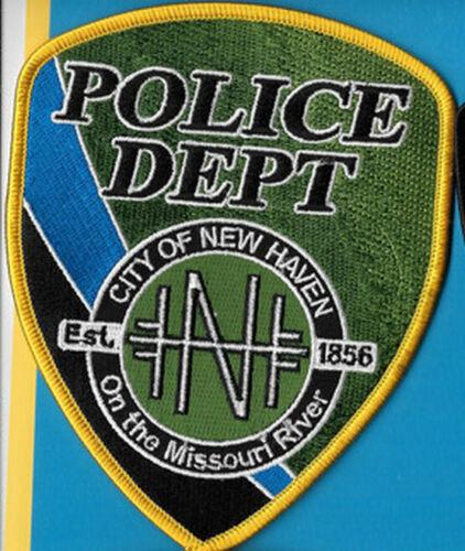 NEW HAVEN MISSOURI MO POLICE DEPT (FIRE)  BLUE LINE 1856 NHPD PD